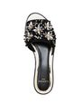 LANVIN Sandals Woman EMBROIDERED MULE f