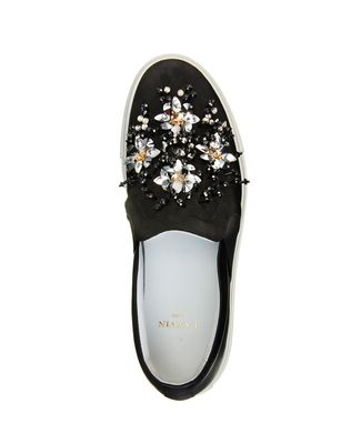 LANVIN EMBROIDERED SLIP-ON SNEAKER Sneakers D r