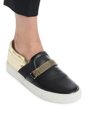 LANVIN SLIP-ON SNEAKER WITH CHAIN Sneakers D e