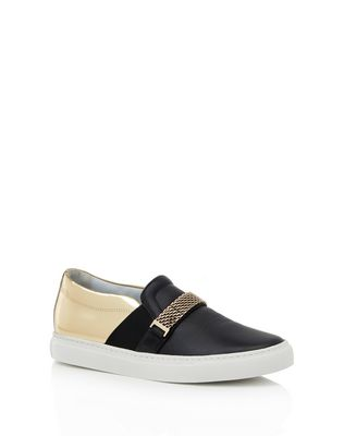 LANVIN SLIP-ON WITH CHAIN Sneakers D f