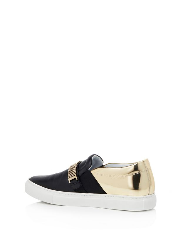 LANVIN SLIP-ON SNEAKER WITH CHAIN Sneakers D d