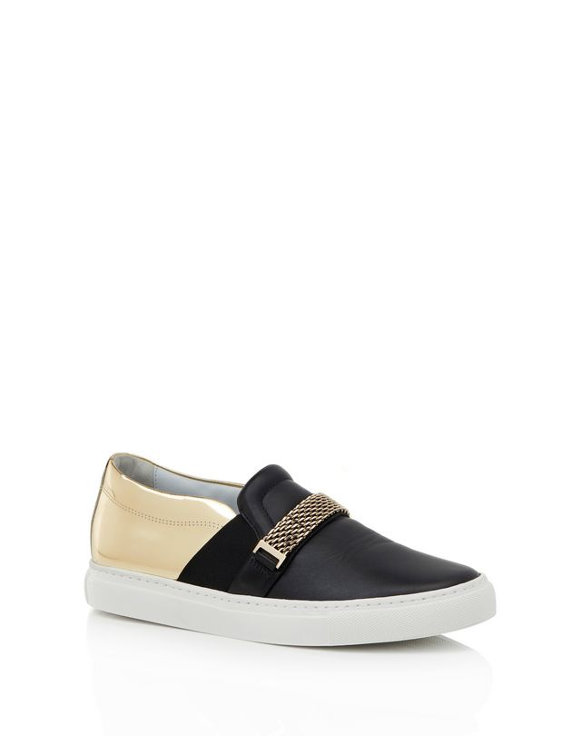 LANVIN SLIP-ON SNEAKER WITH CHAIN Sneakers D f