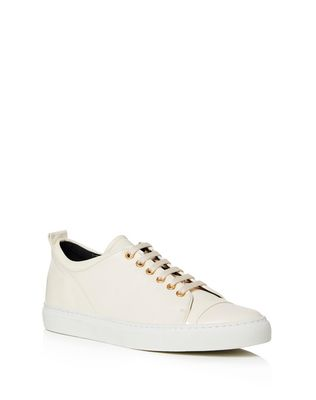 LANVIN Sneakers D LOW WHITE EMBOSSED SNEAKER F
