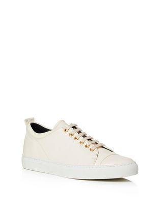LANVIN NAPPA LEATHER SNEAKER Sneakers D f