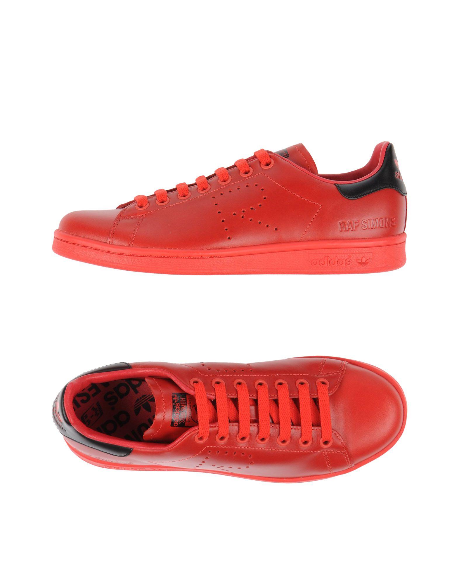 ADIDAS by RAF SIMONS Низкие кеды и кроссовки кроссовки детские adidas fortagym cf k цвет фуксия ah2561 размер 34 32