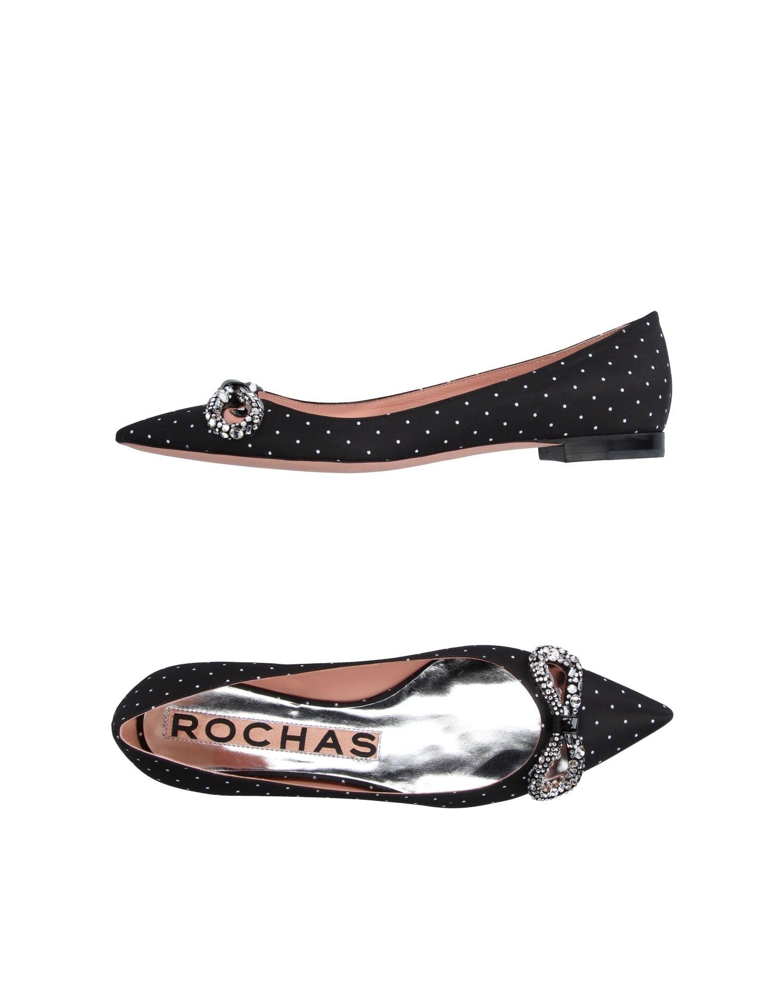 ROCHAS Балетки цены онлайн