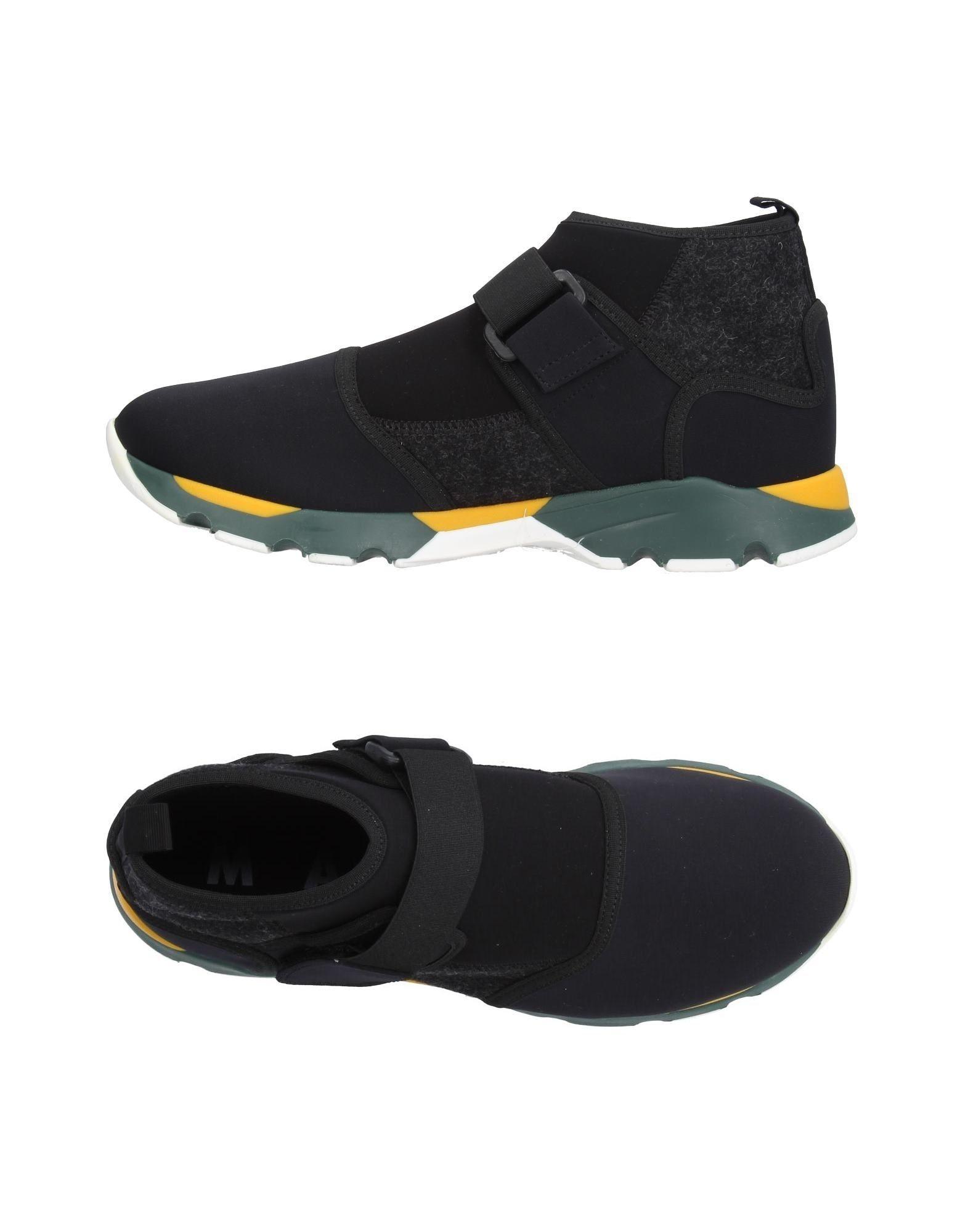 MARNI Высокие кеды и кроссовки кеды кроссовки высокие dc council mid tx stone camo