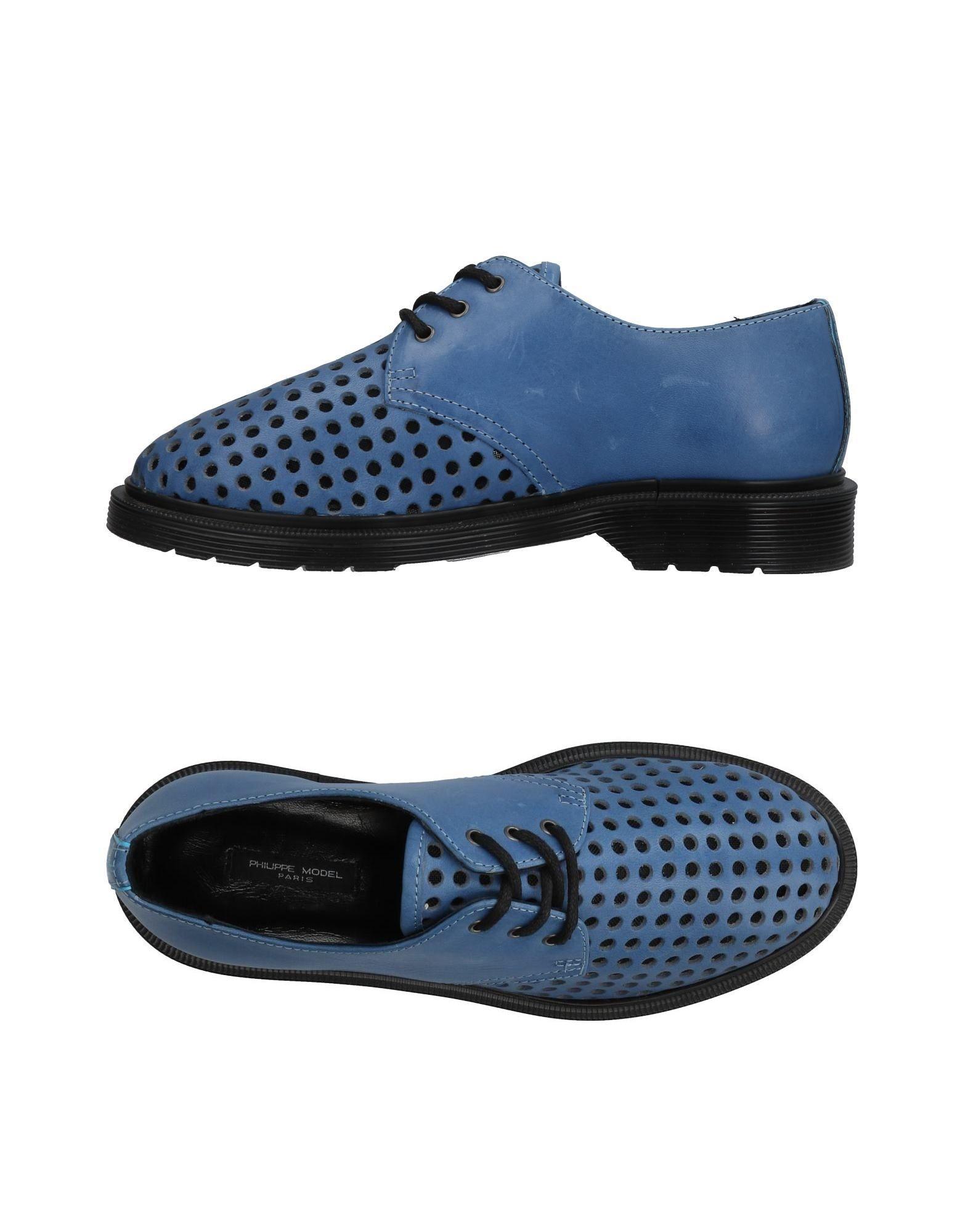 где купить PHILIPPE MODEL Обувь на шнурках по лучшей цене