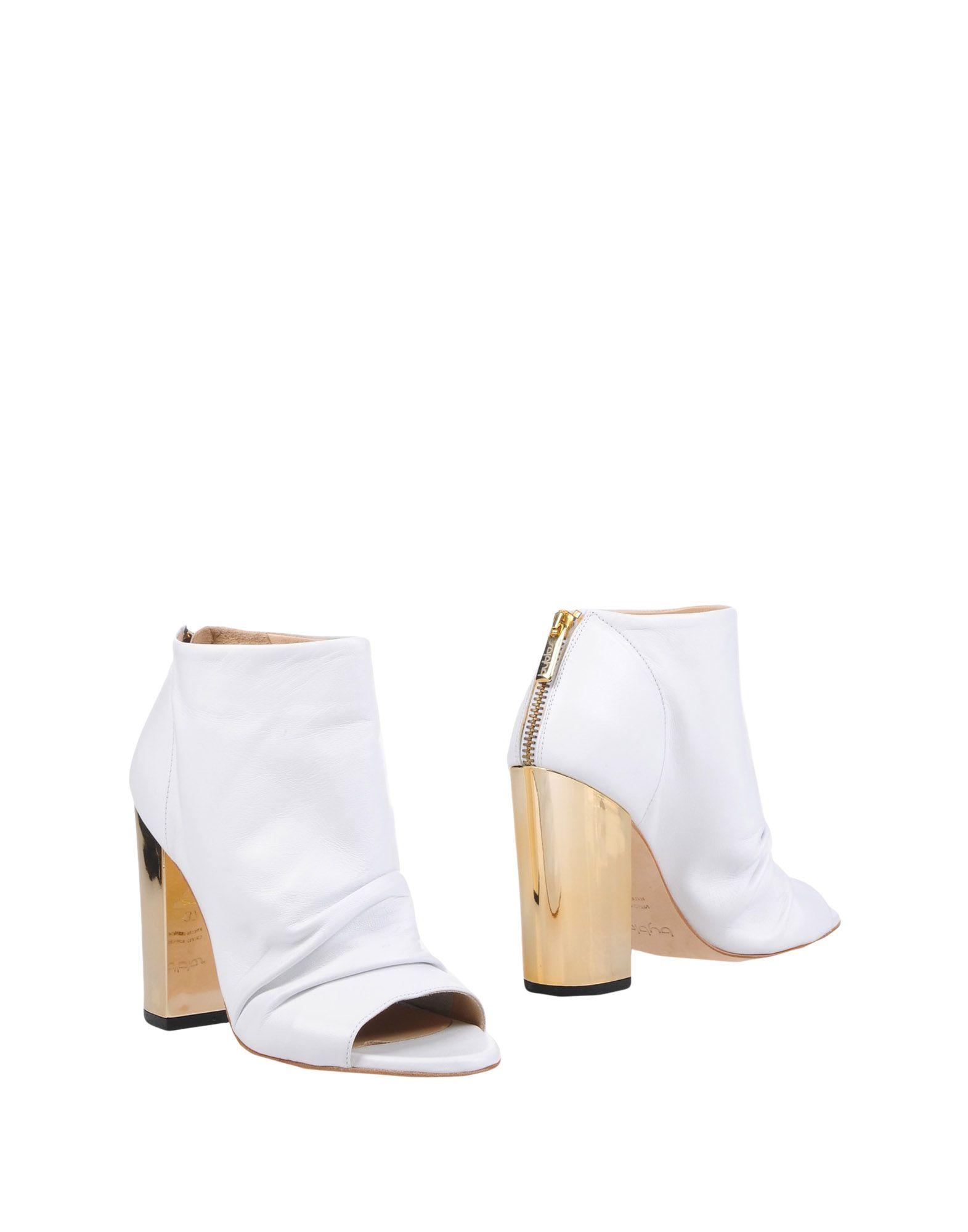 《送料無料》BYBLOS レディース ショートブーツ ホワイト 40 革