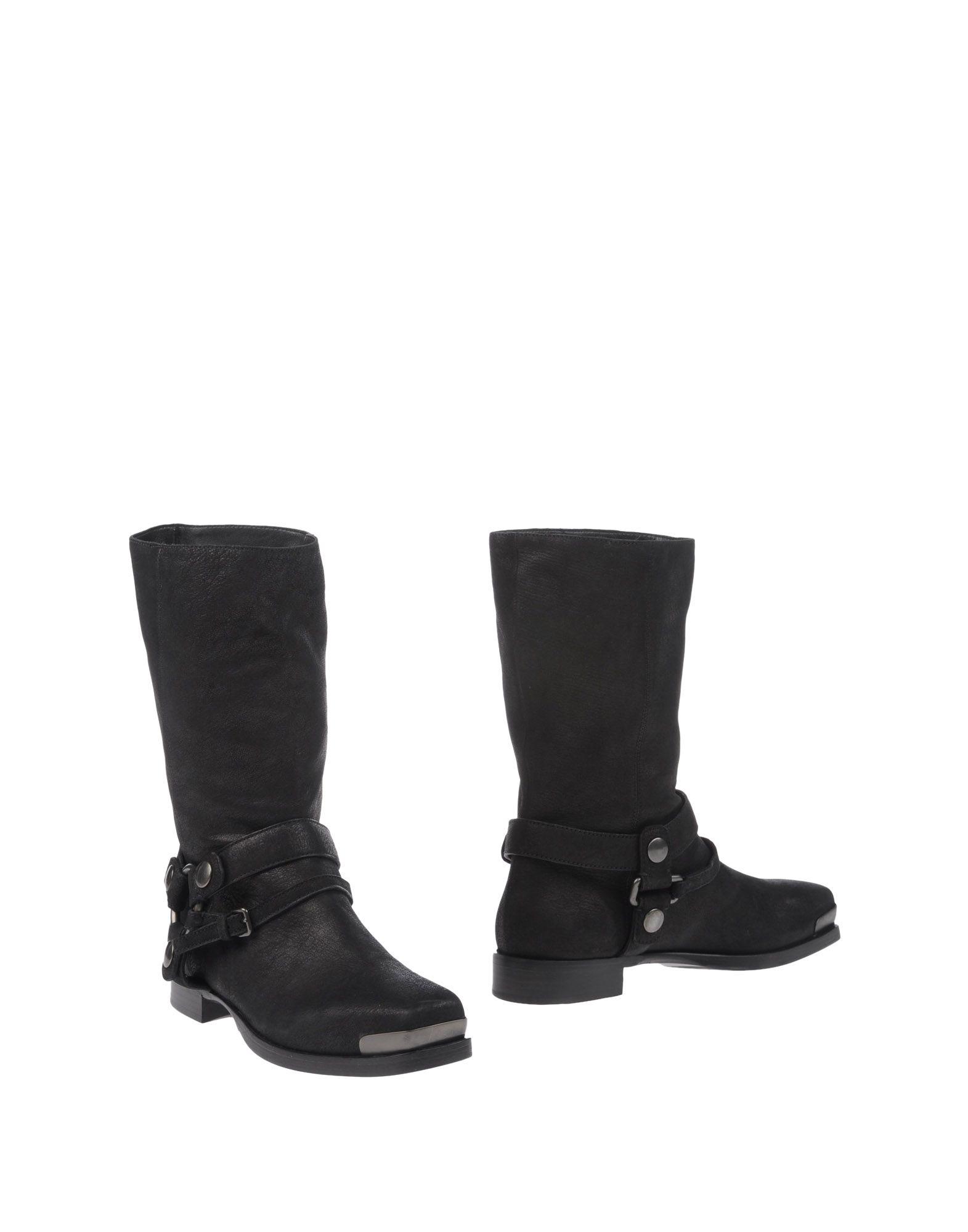 MIU Damen Stiefelette Farbe Schwarz Größe 10