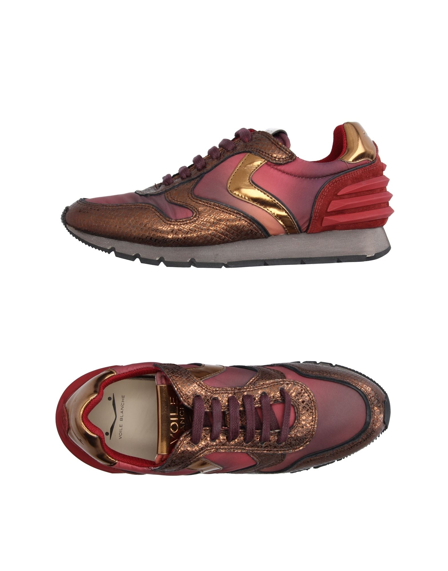 VOILE BLANCHE Sneakers in Brick Red