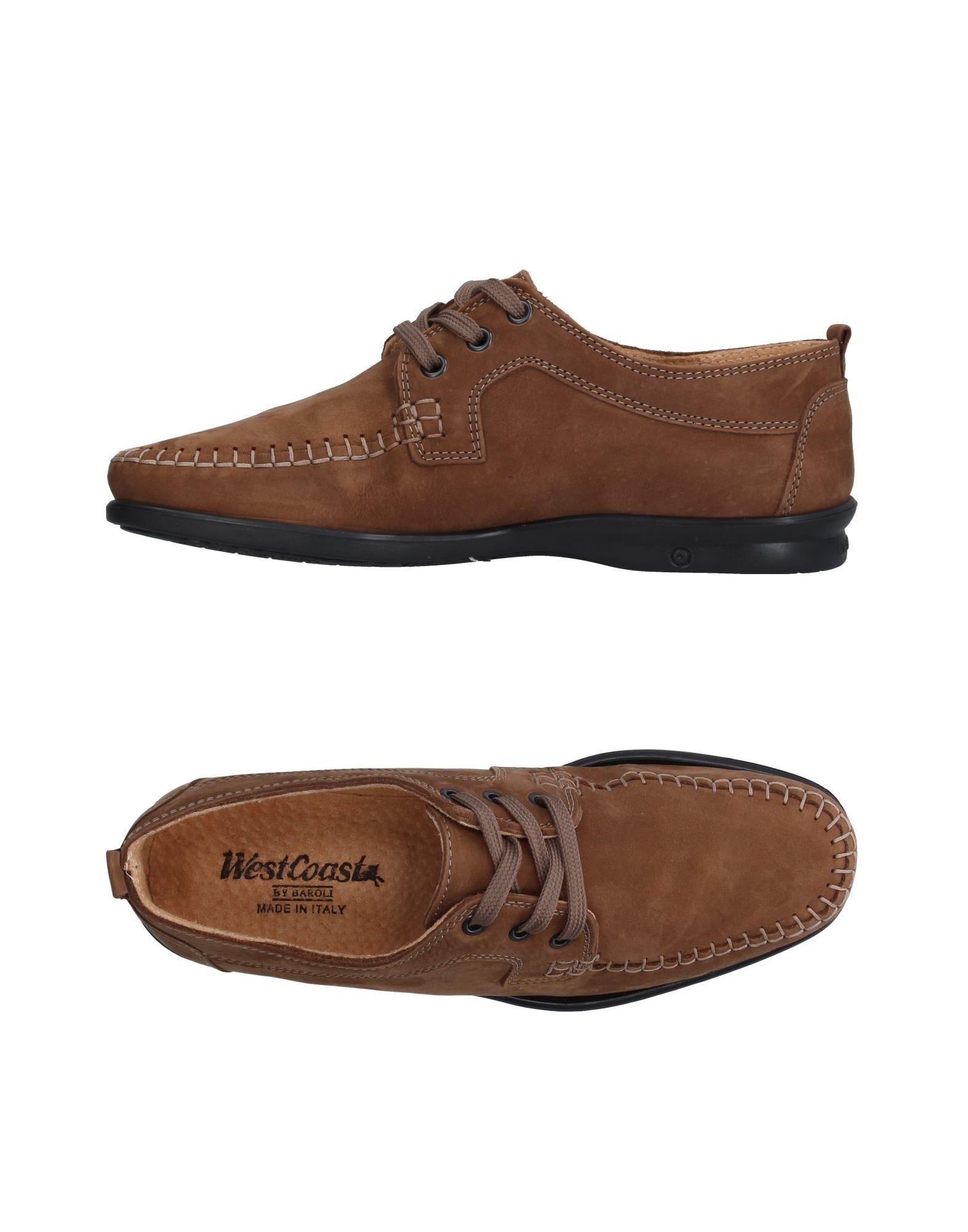 цена WEST COAST Обувь на шнурках