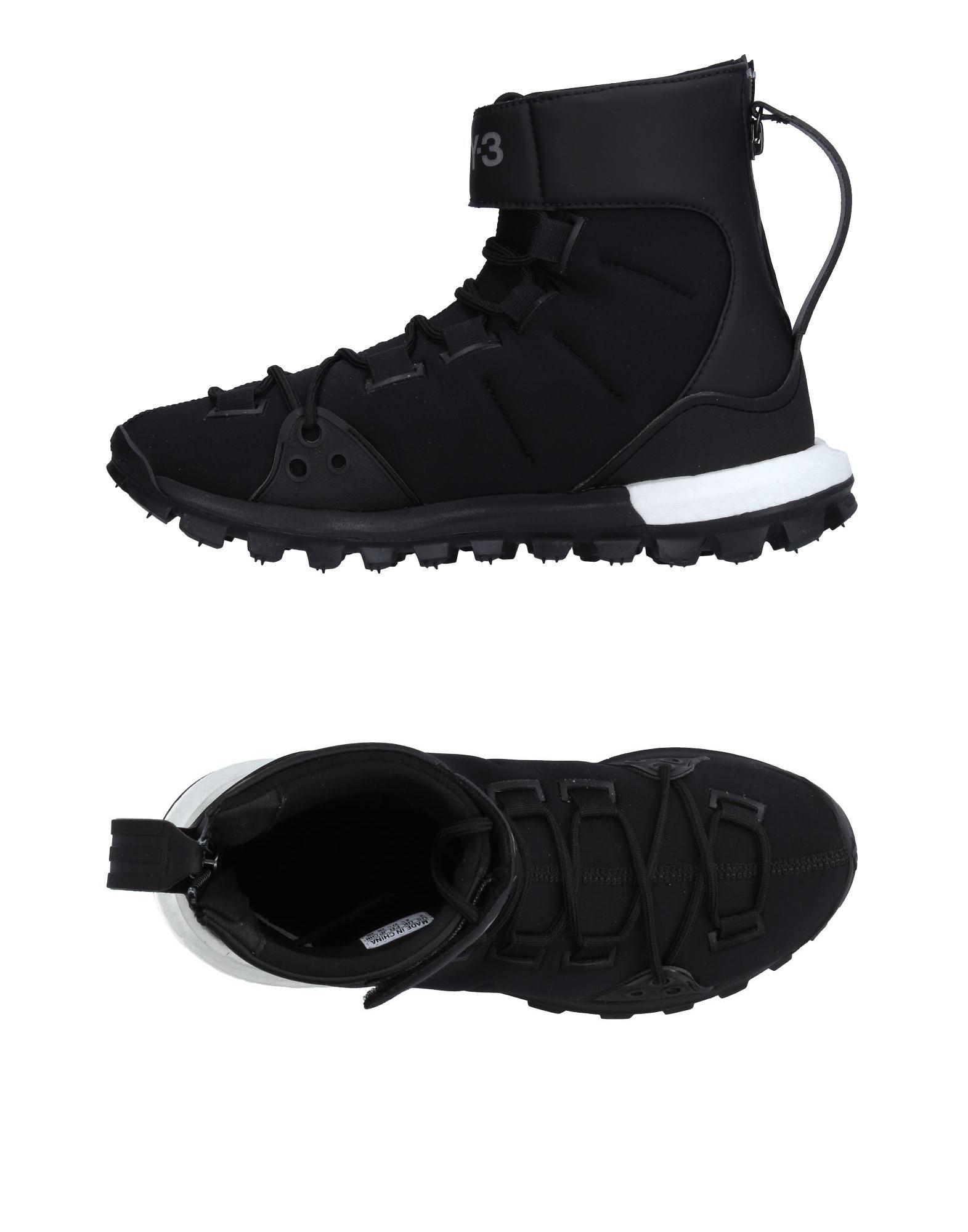 Y-3 Высокие кеды и кроссовки кроссовки y 3
