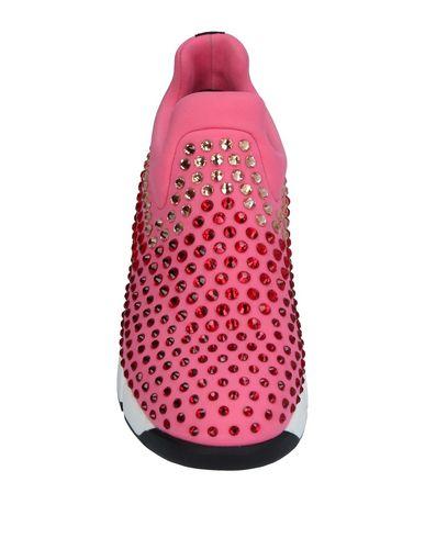 Фото 2 - Низкие кеды и кроссовки розового цвета