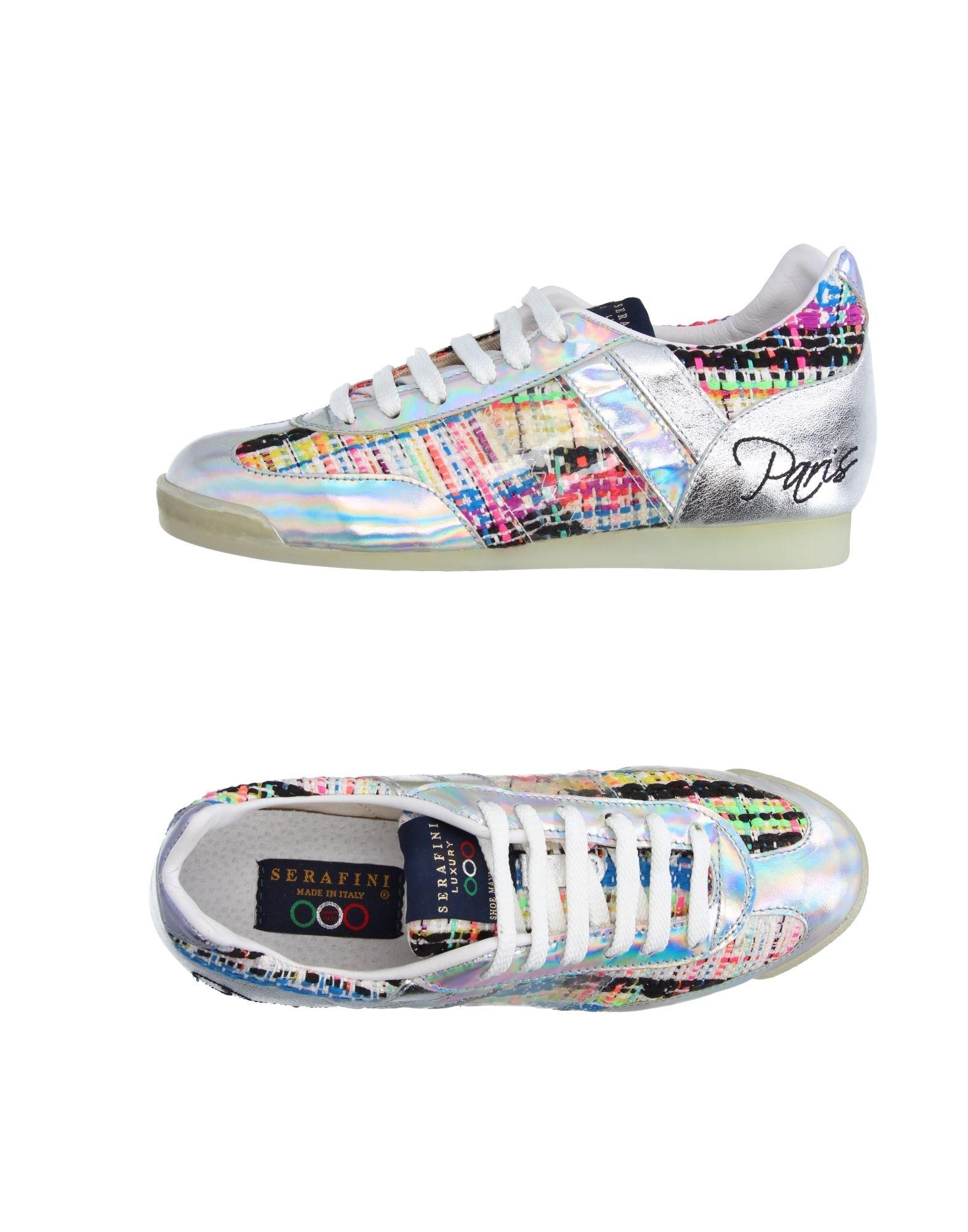 SERAFINI Sneakers in Silver