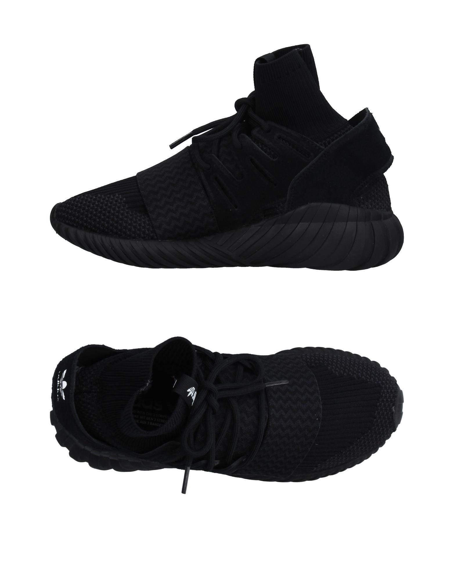 《送料無料》ADIDAS ORIGINALS メンズ スニーカー&テニスシューズ(ハイカット) ブラック 6.5 紡績繊維 / 革