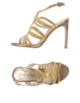 STUART WEITZMAN Damen Sandale Farbe Gold Größe 6 Sale Angebote
