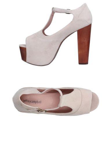 Фото - Женские туфли JEFFREY CAMPBELL светло-серого цвета