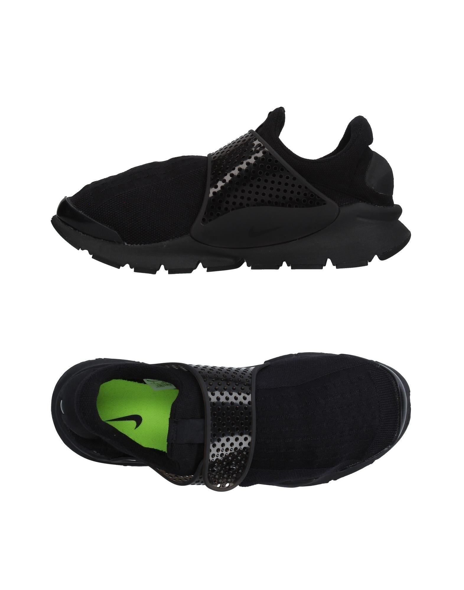《セール開催中》NIKE メンズ スニーカー&テニスシューズ(ローカット) ブラック 7 紡績繊維