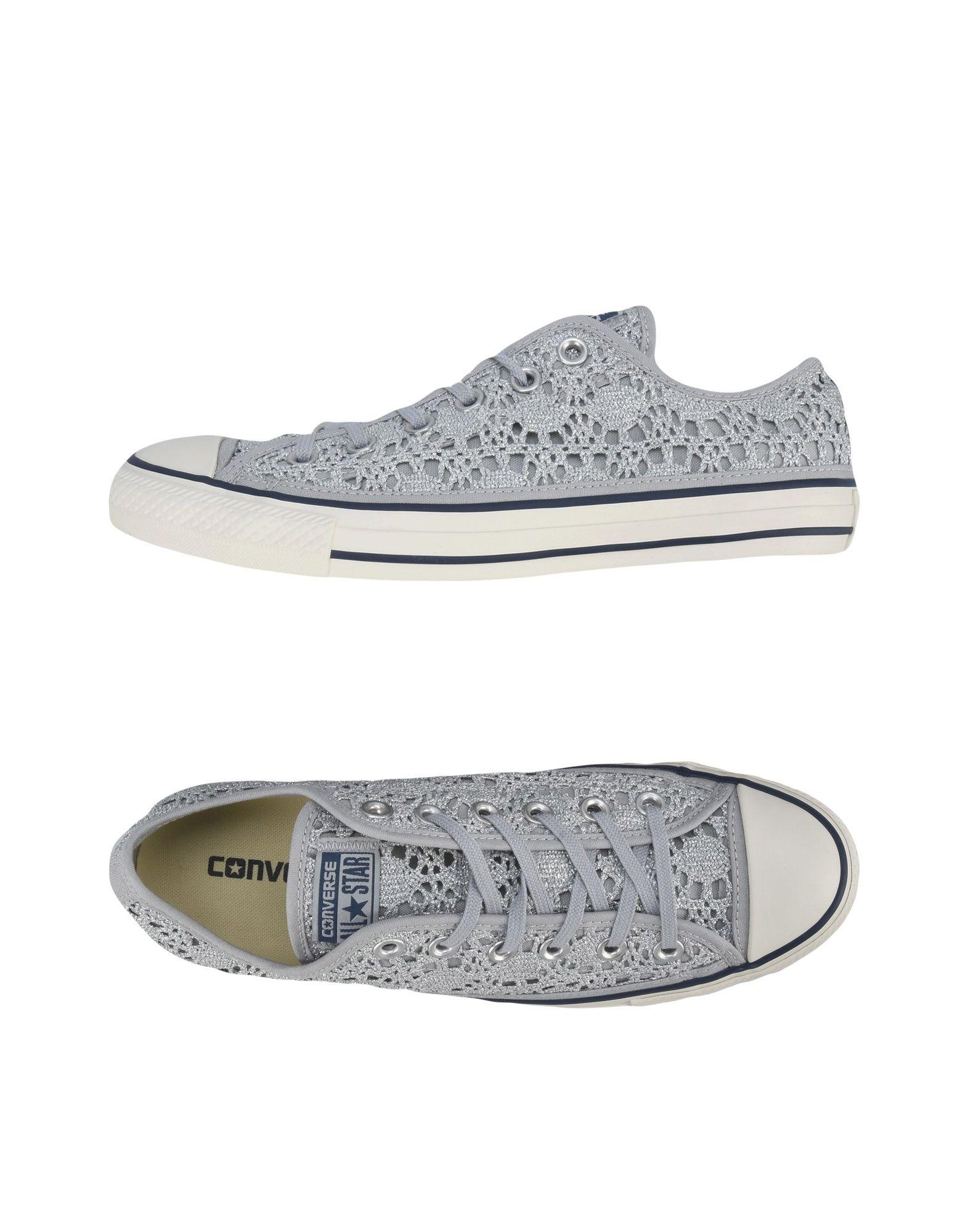 CONVERSE ALL STAR Damen Low Sneakers & Tennisschuhe Farbe Grau Größe 5