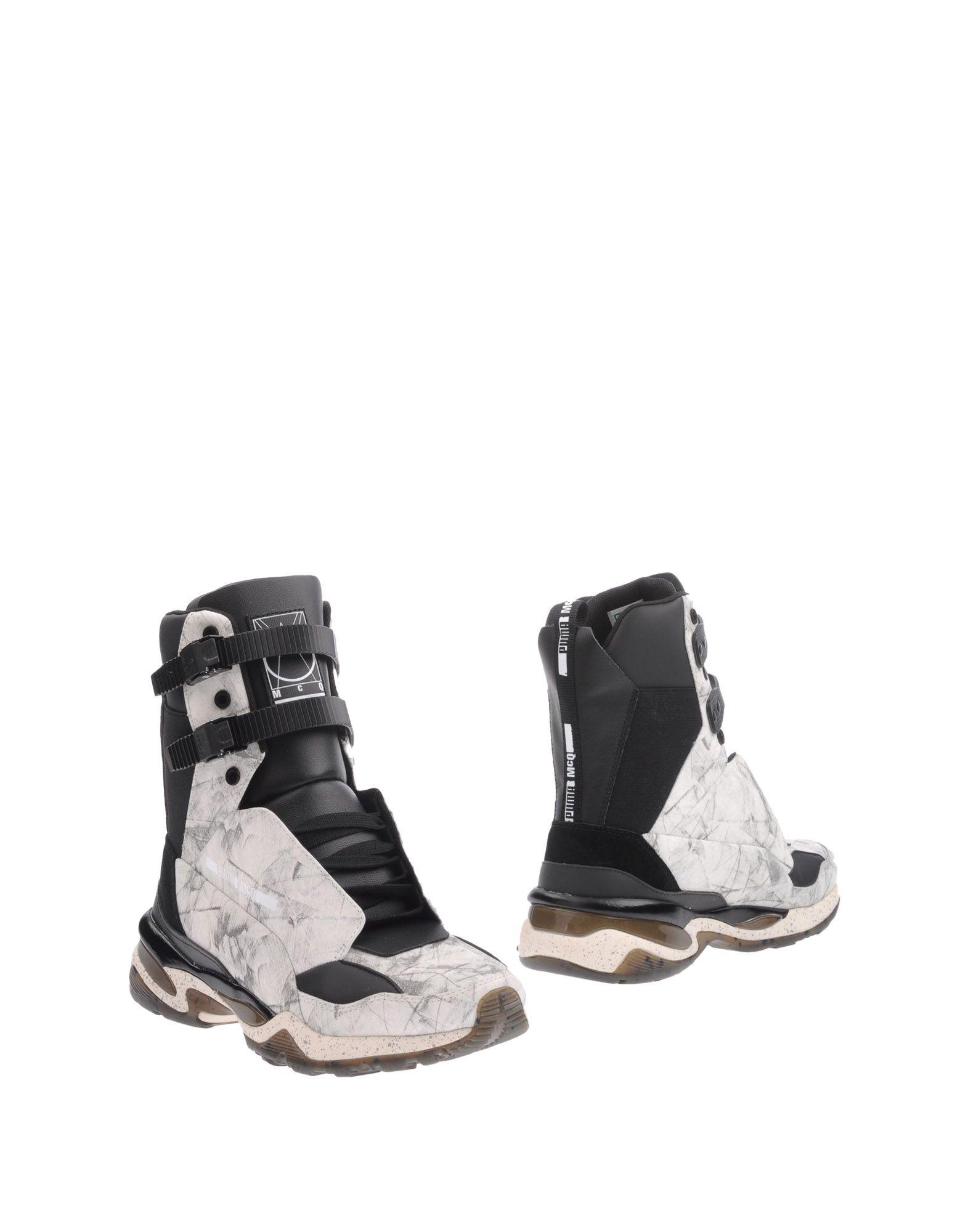 McQ PUMA Полусапоги и высокие ботинки цены онлайн