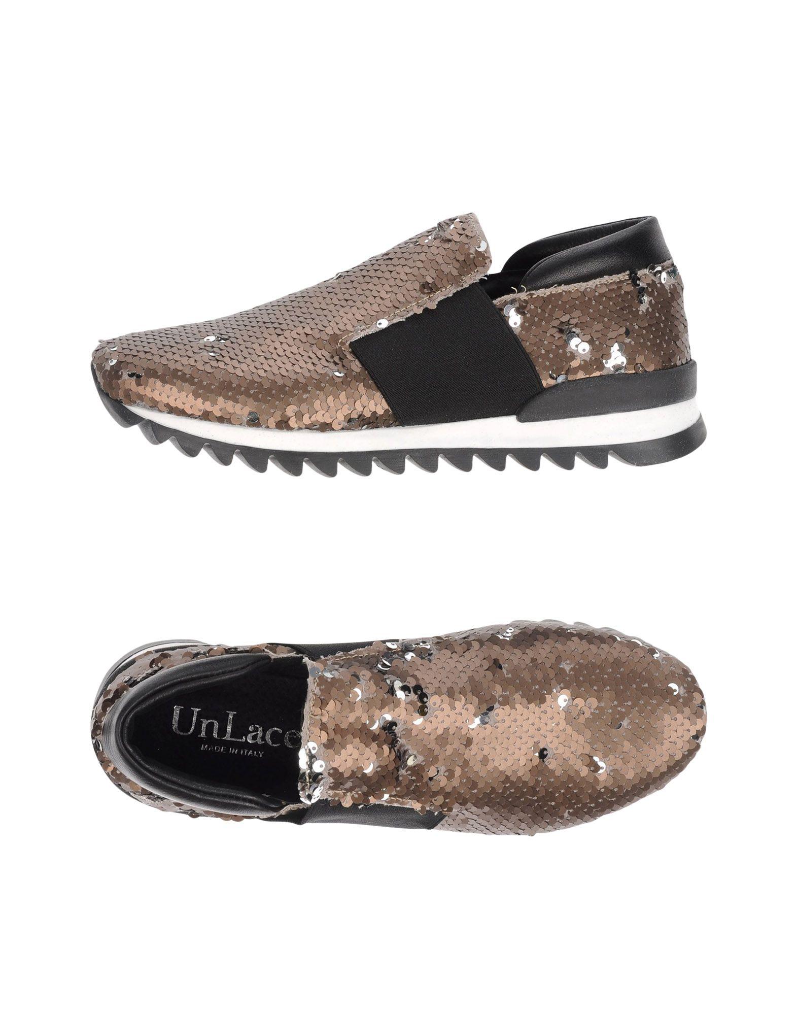 Фото UNLACE Низкие кеды и кроссовки. Купить с доставкой