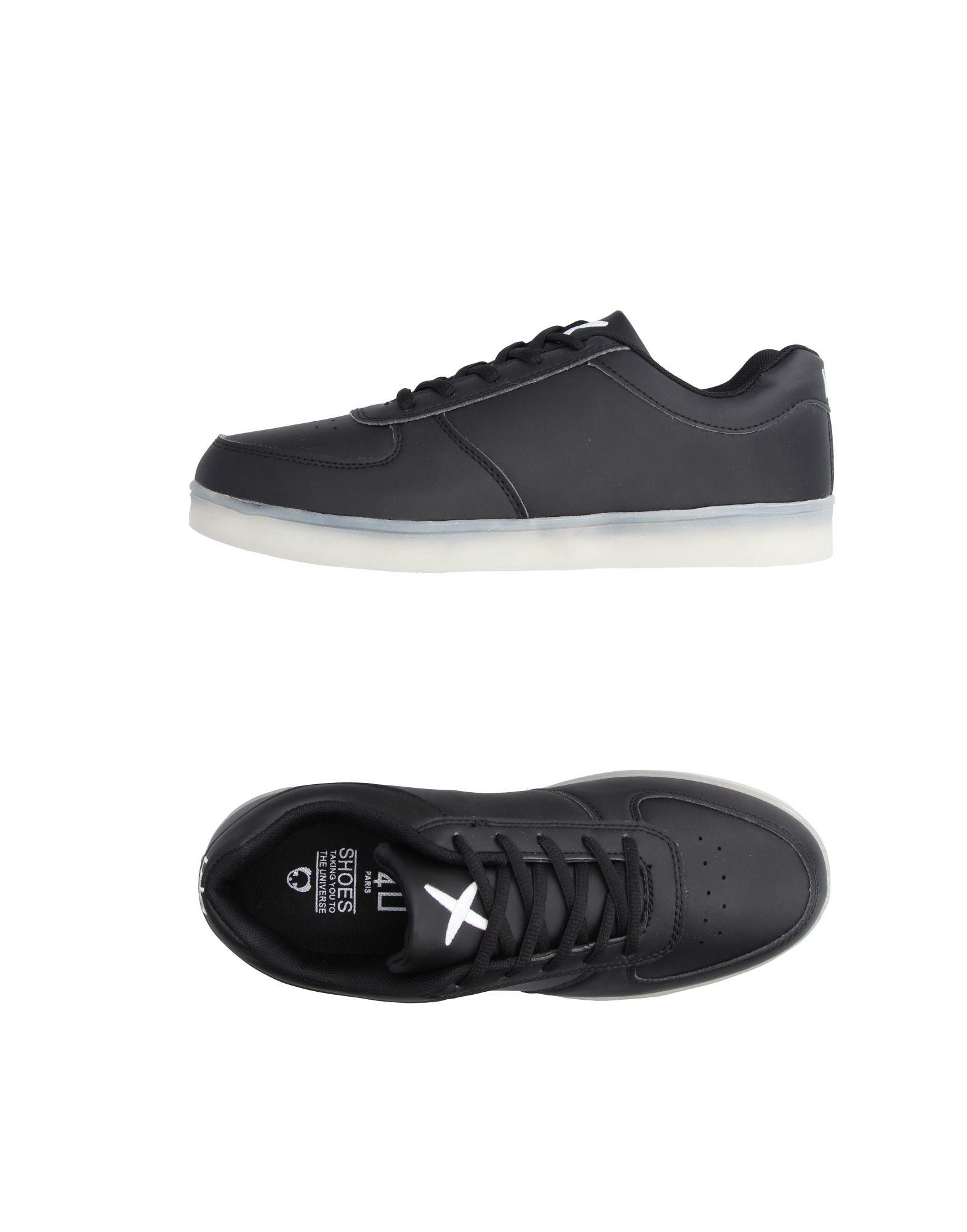 《送料無料》WIZE & OPE メンズ スニーカー&テニスシューズ(ローカット) ブラック 8.5 紡績繊維