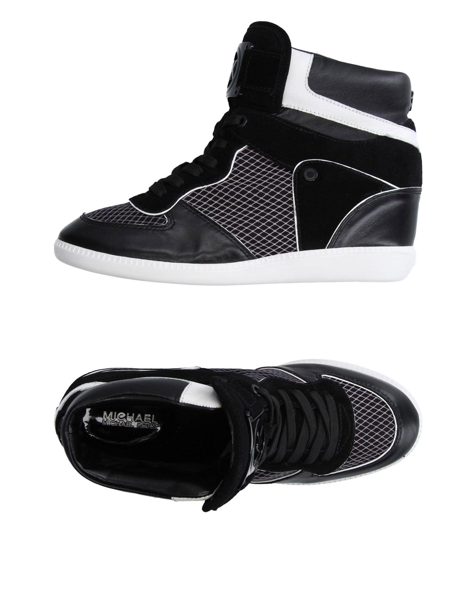 MICHAEL MICHAEL KORS Высокие кеды и кроссовки кроссовки michael kors кроссовки