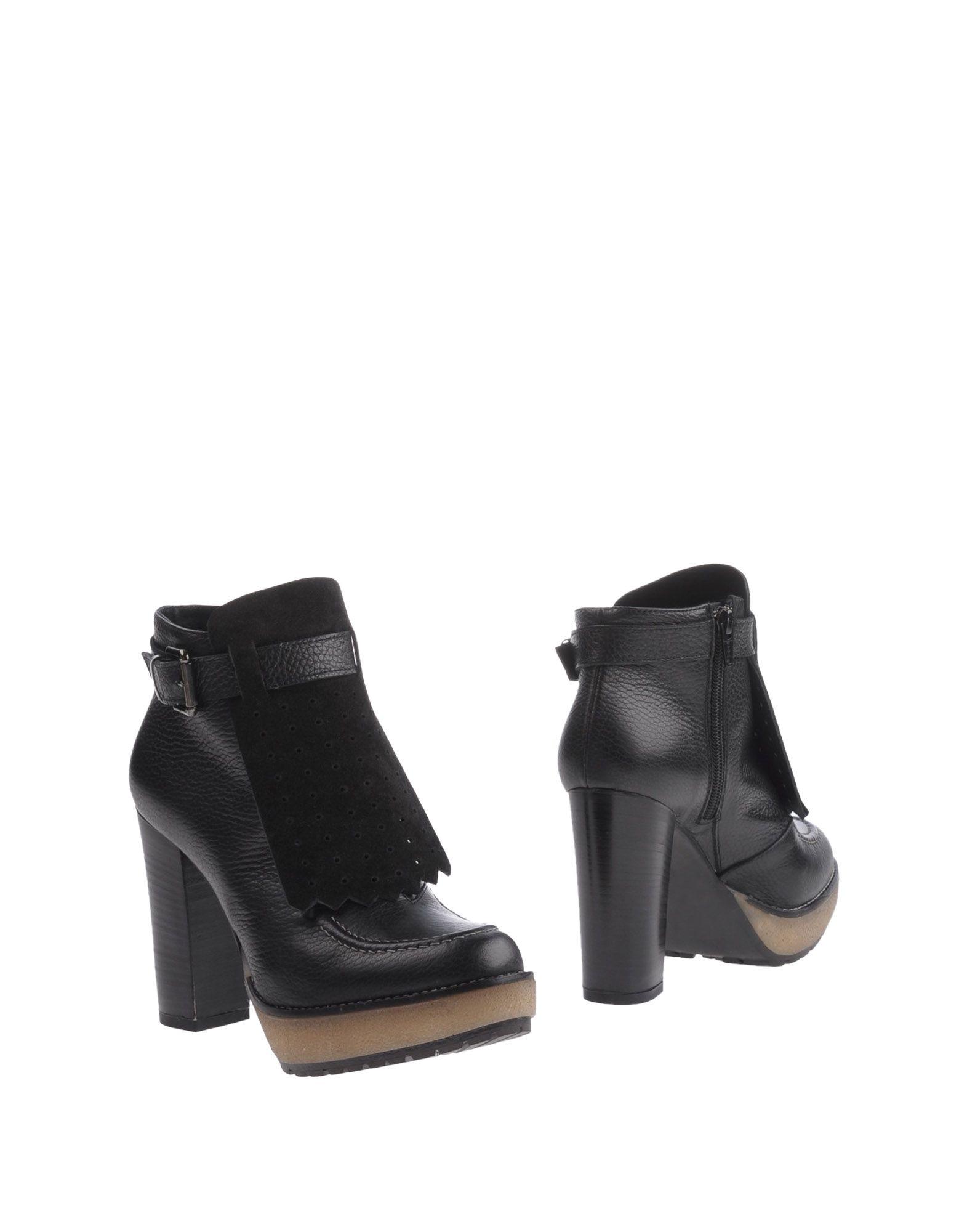 EMANUELA PASSERI Полусапоги и высокие ботинки цены онлайн