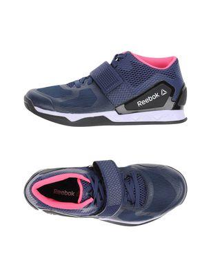 REEBOK Damen Low Sneakers & Tennisschuhe Farbe Dunkelblau Größe 8