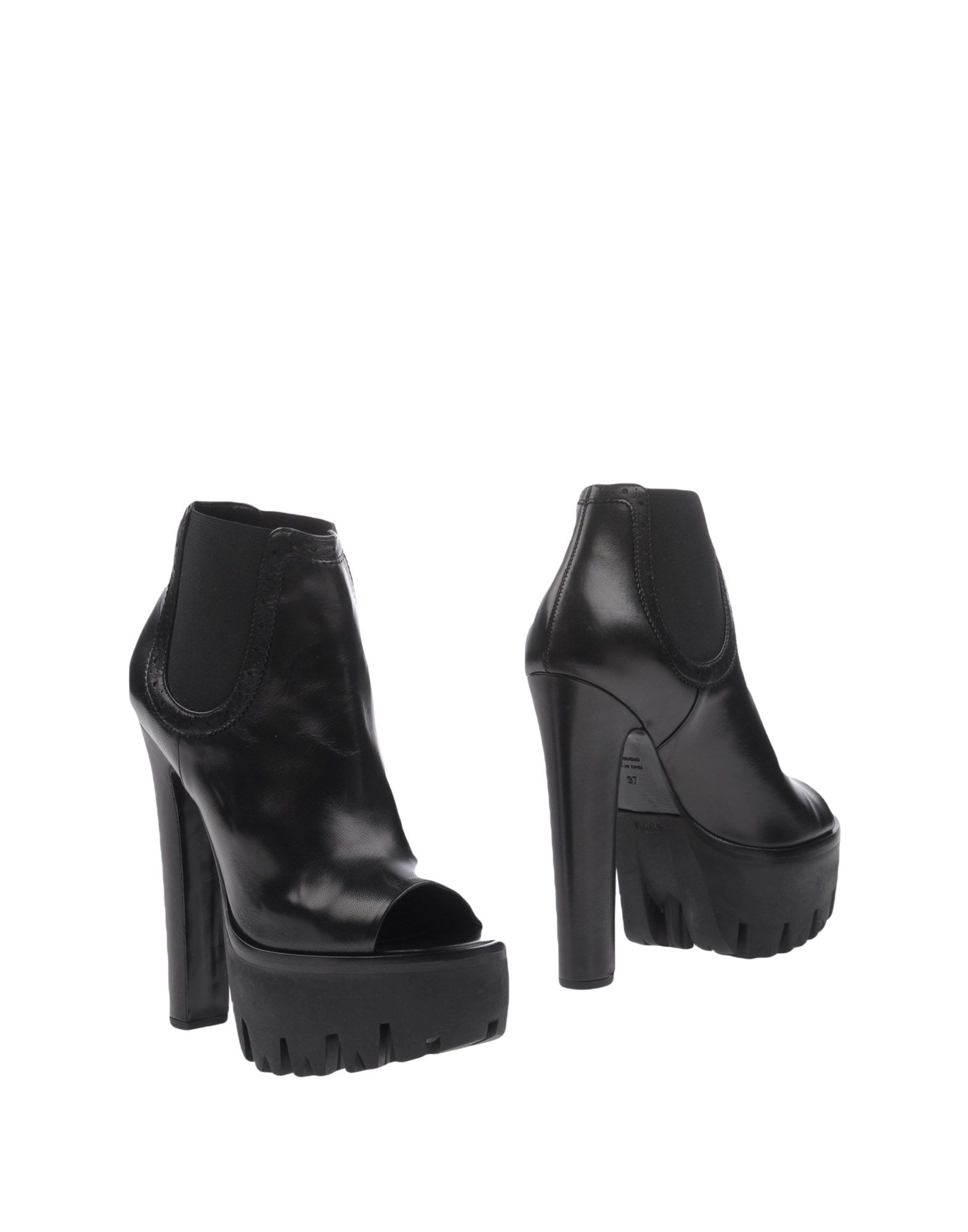 VERSUS VERSACE Полусапоги и высокие ботинки джинсы versus versace versus versace ve027emzie41