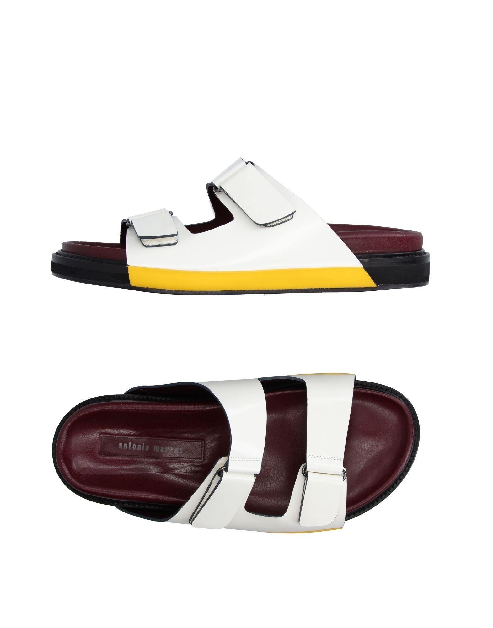 ANTONIO MARRAS + PDO Herren Sandale Farbe Weiß Größe 13