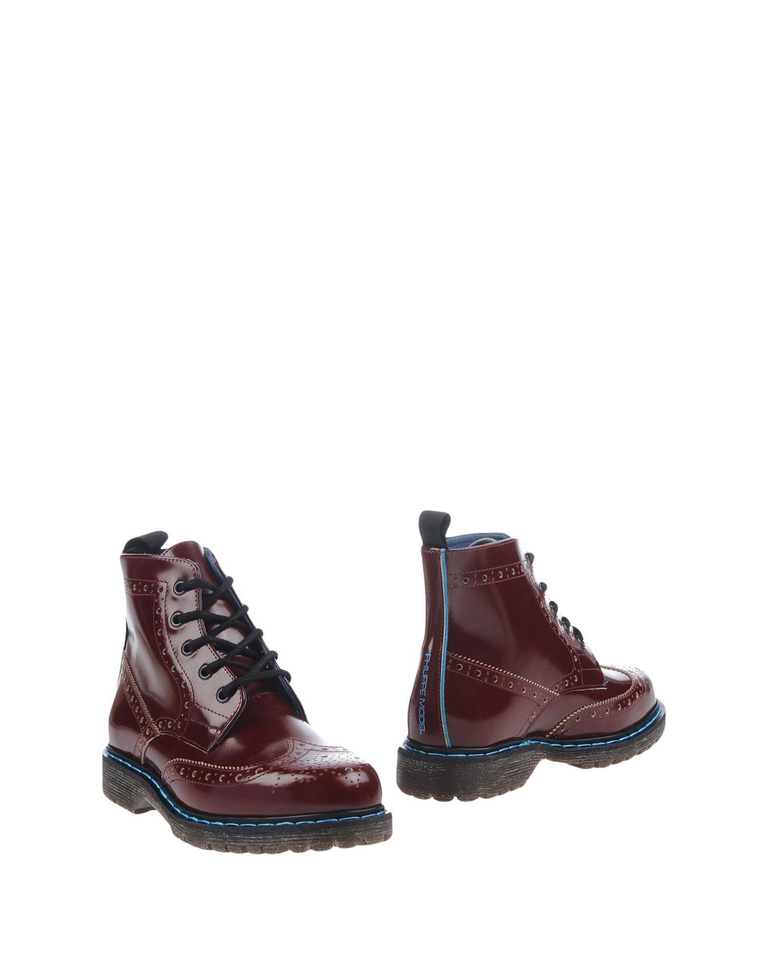 где купить  PHILIPPE MODEL Полусапоги и высокие ботинки  по лучшей цене
