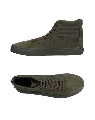 Фото - Высокие кеды и кроссовки цвет зеленый-милитари