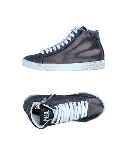 Фото - Высокие кеды и кроссовки от P448 черного цвета