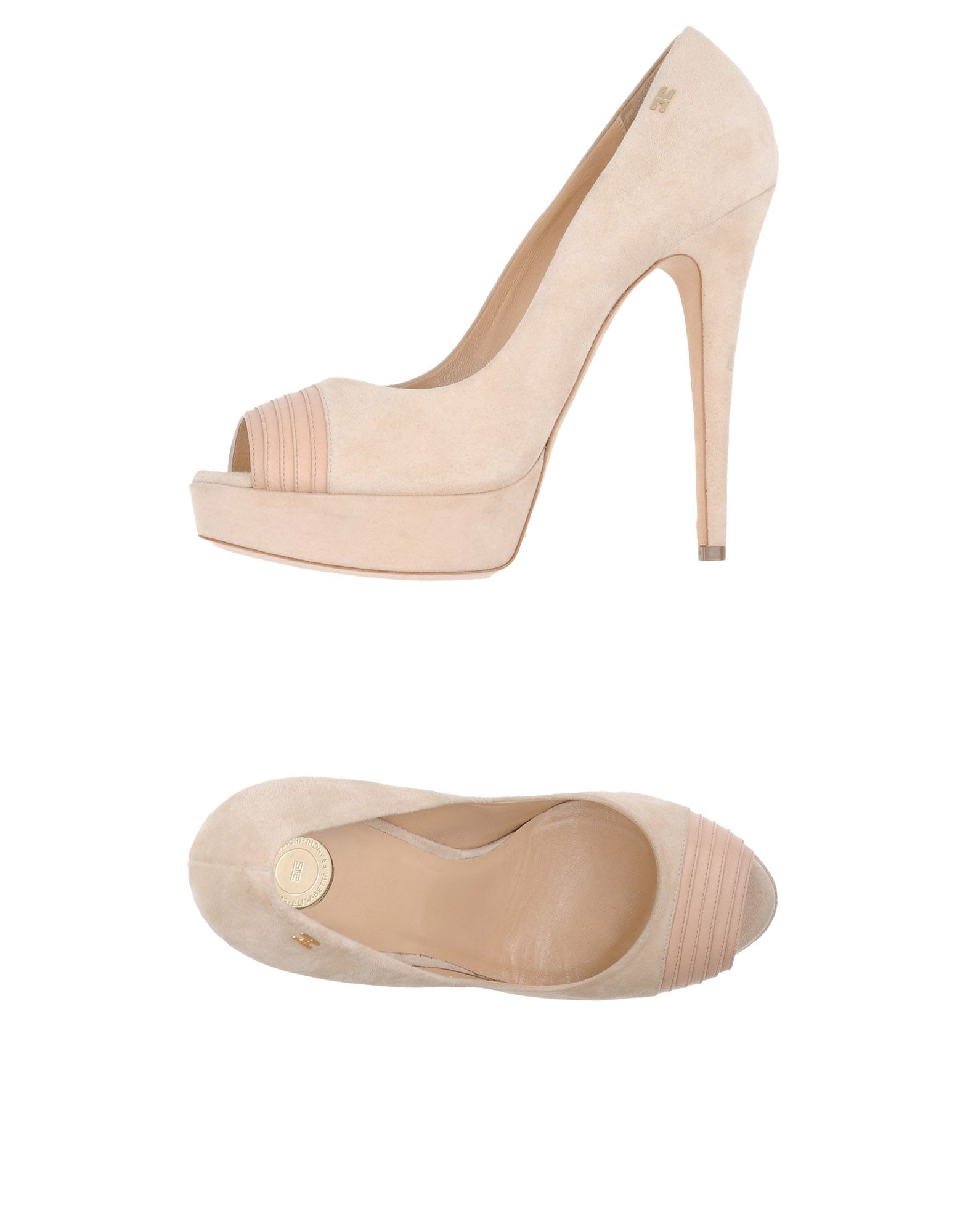 elisabetta franchi туфли с контрастной отделкой ELISABETTA FRANCHI Туфли