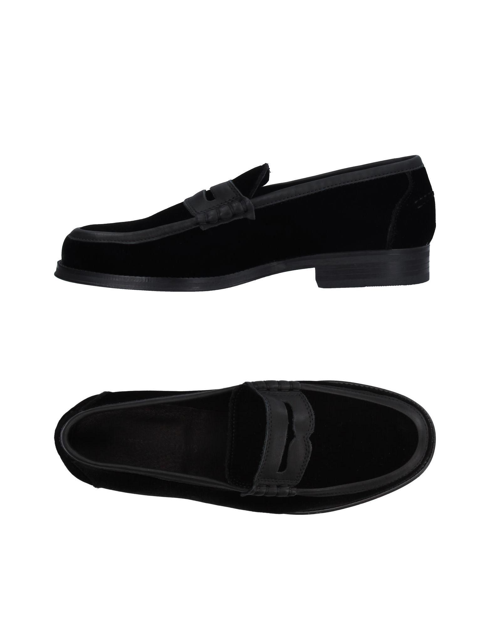ATTIMONELLI´S Herren Mokassin Farbe Schwarz Größe 11