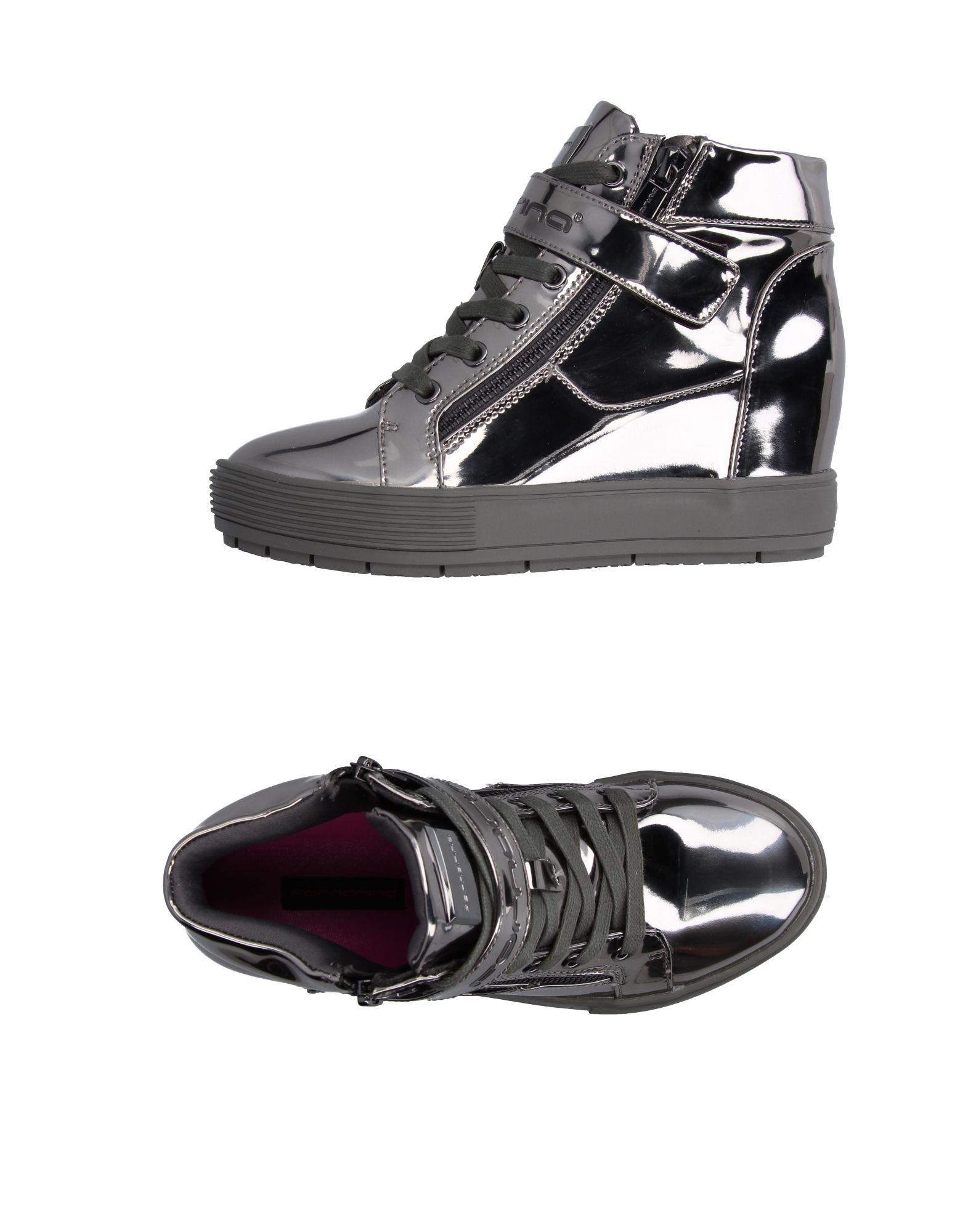 FORNARINA Высокие кеды и кроссовки pierre hardy высокие кеды и кроссовки