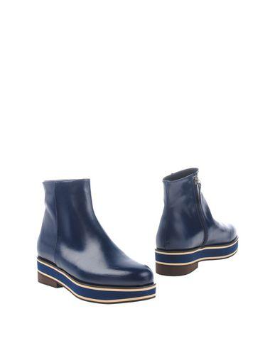 Фото - Полусапоги и высокие ботинки от PALOMA BARCELÓ темно-синего цвета