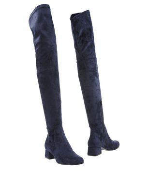SPAZIOMODA Damen Stiefel Farbe Dunkelblau Größe 7 Sale Angebote Jämlitz-Klein Düben