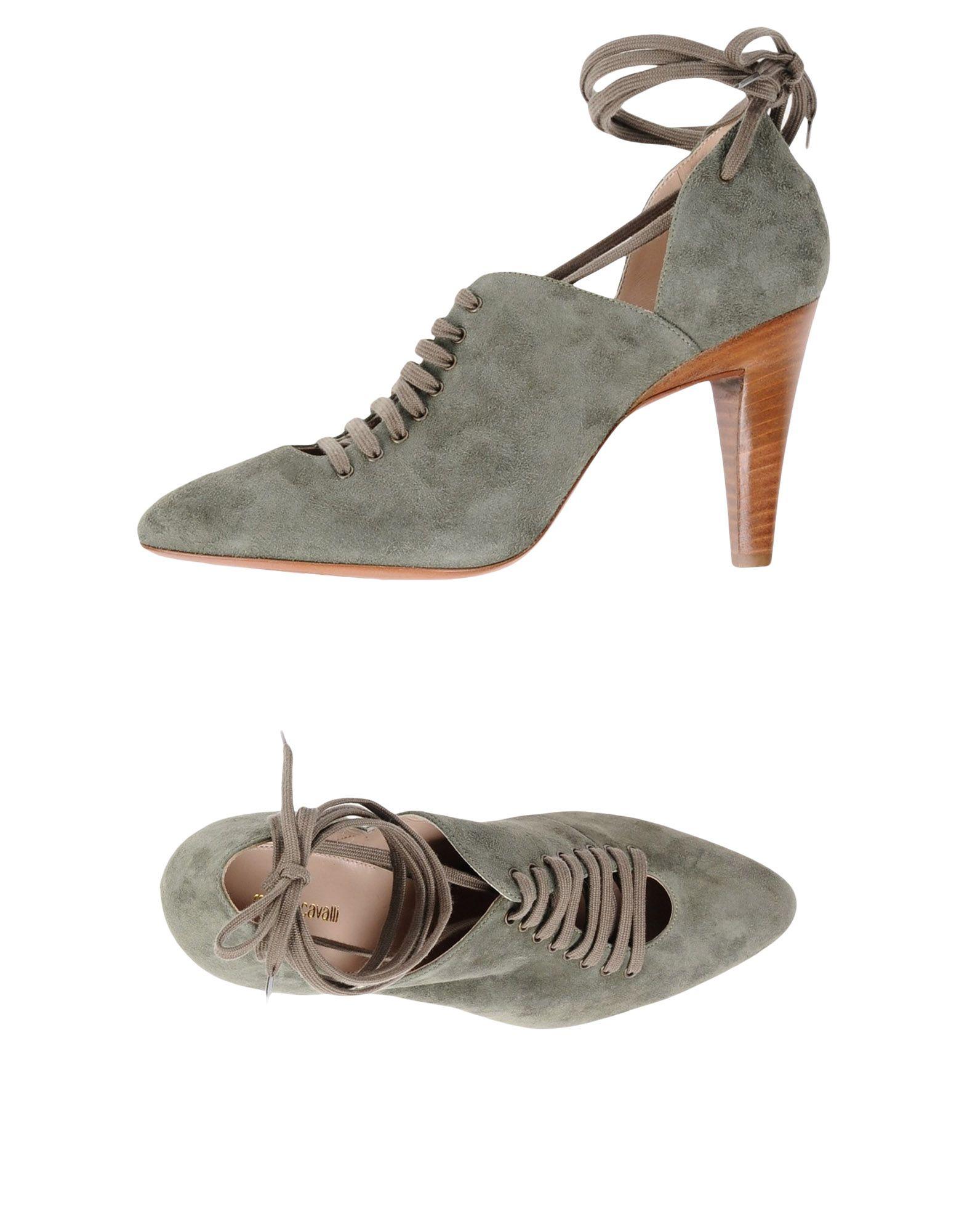 где купить  ROBERTO CAVALLI Обувь на шнурках  по лучшей цене