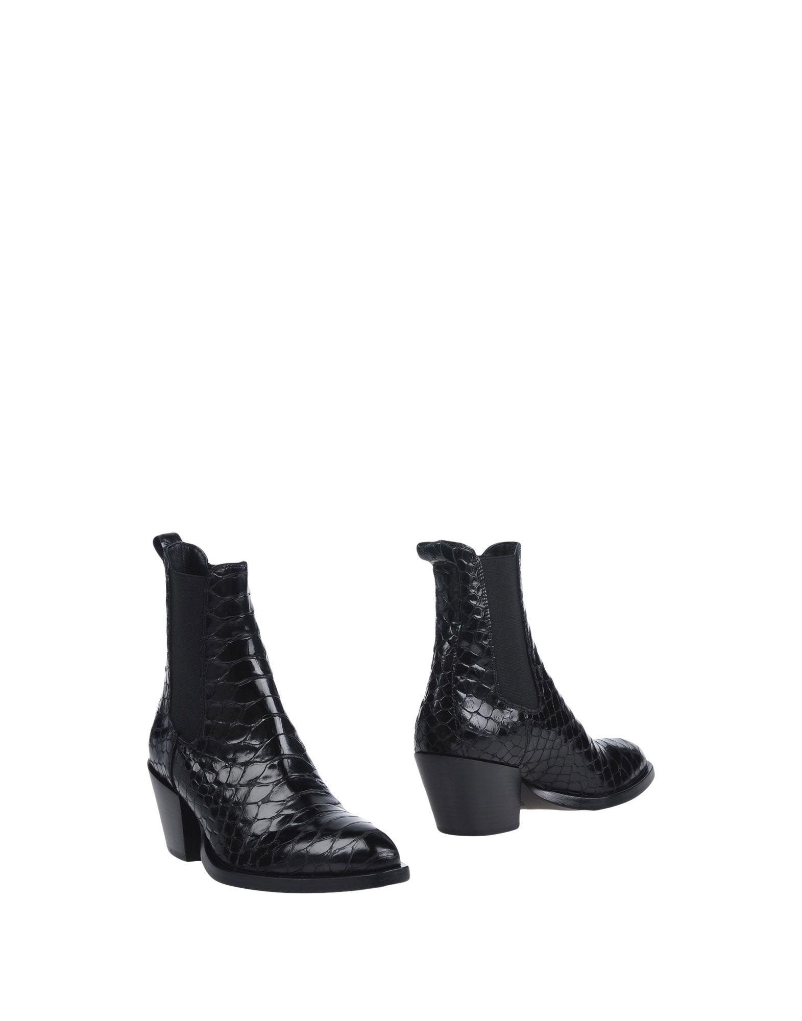 ELENA IACHI Полусапоги и высокие ботинки цены онлайн