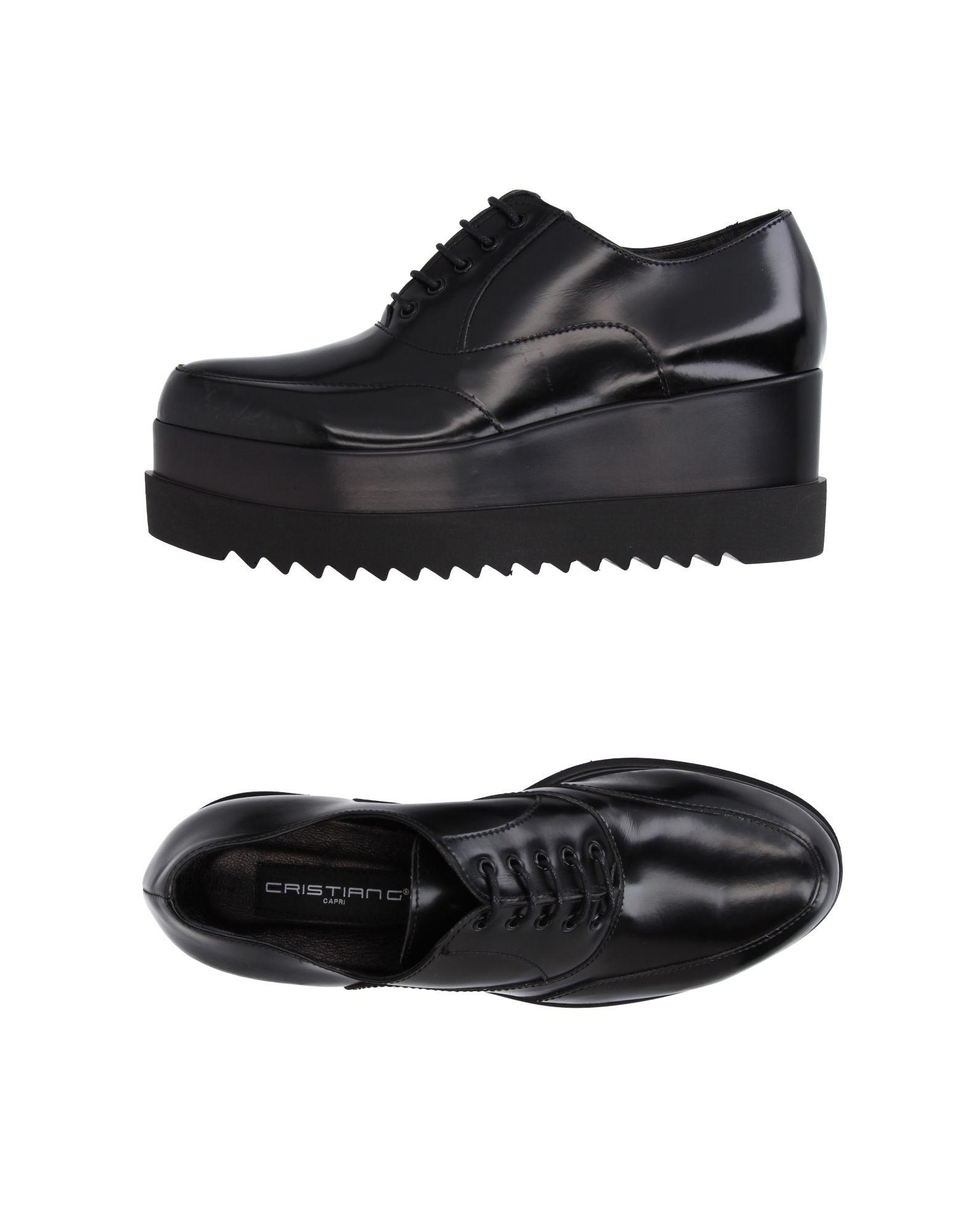 CRISTIAN G Обувь на шнурках cristian castro queretaro