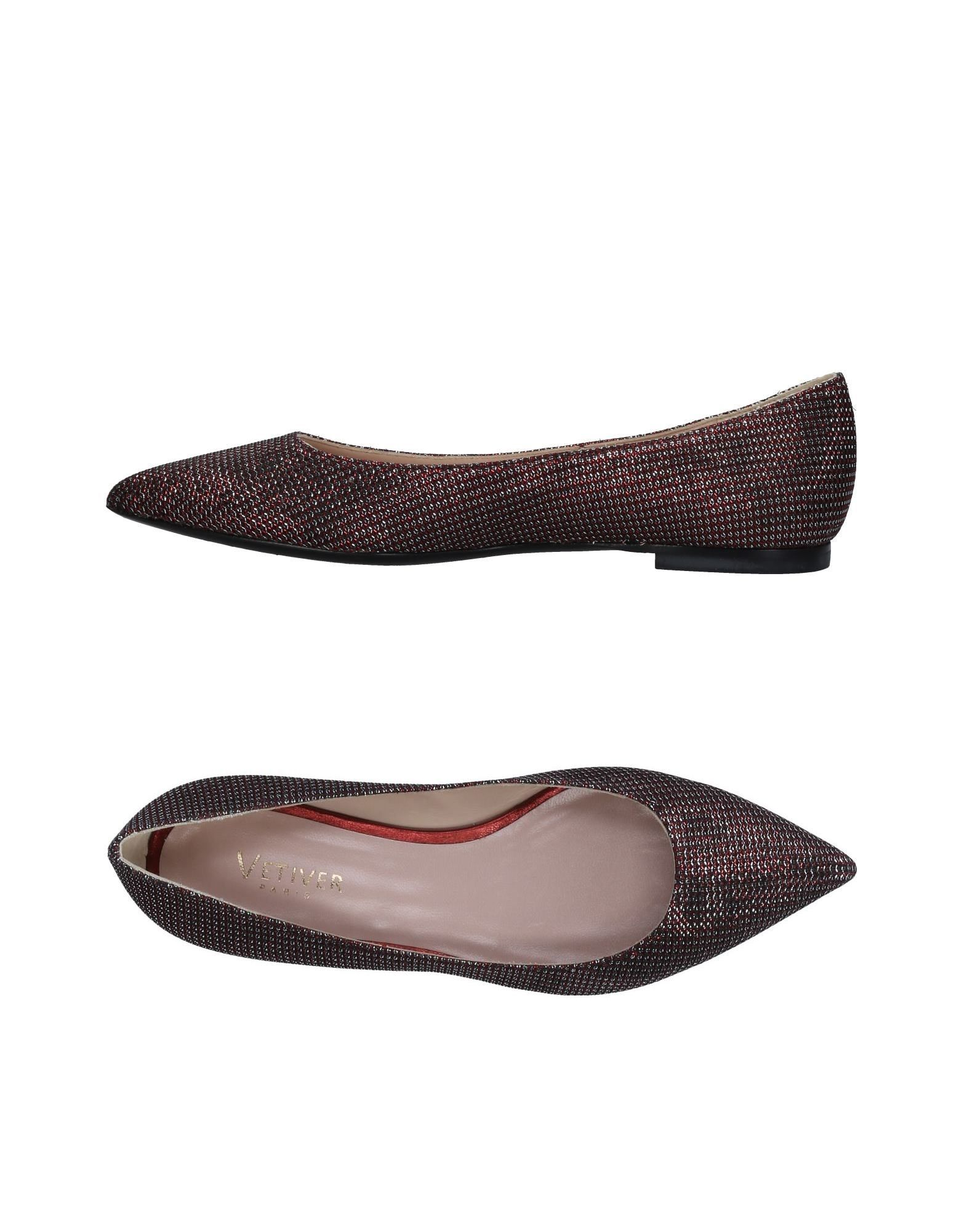 VETIVER Ballet Flats in Red