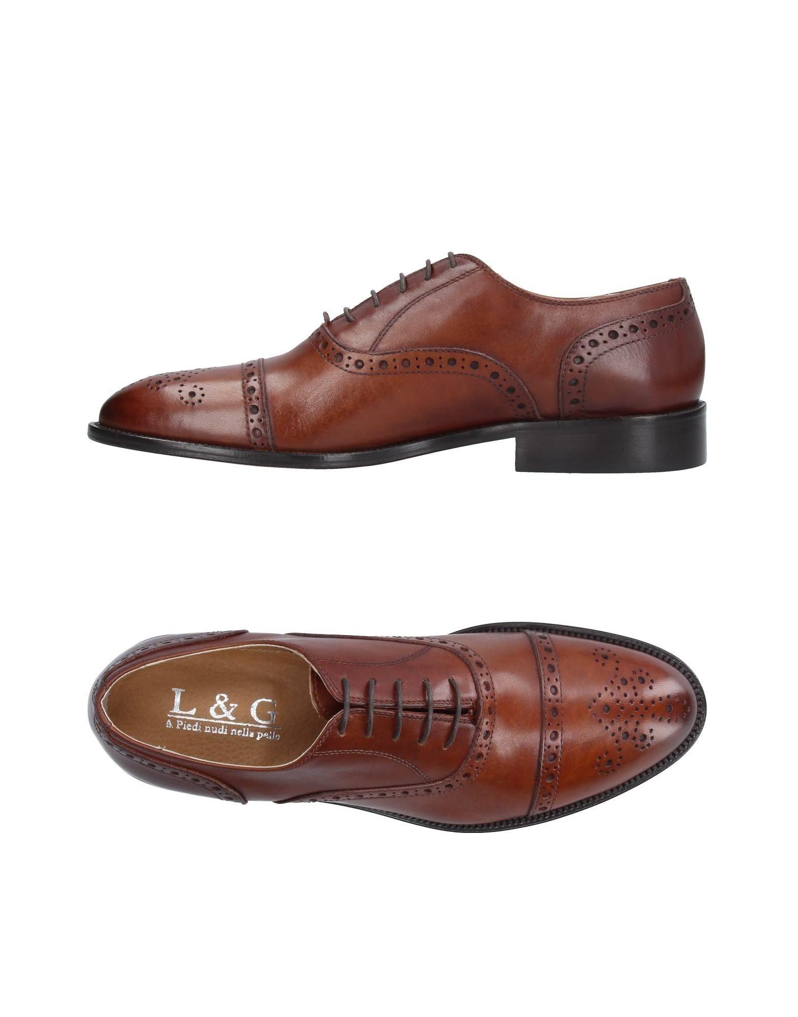 L&G Обувь на шнурках цены онлайн