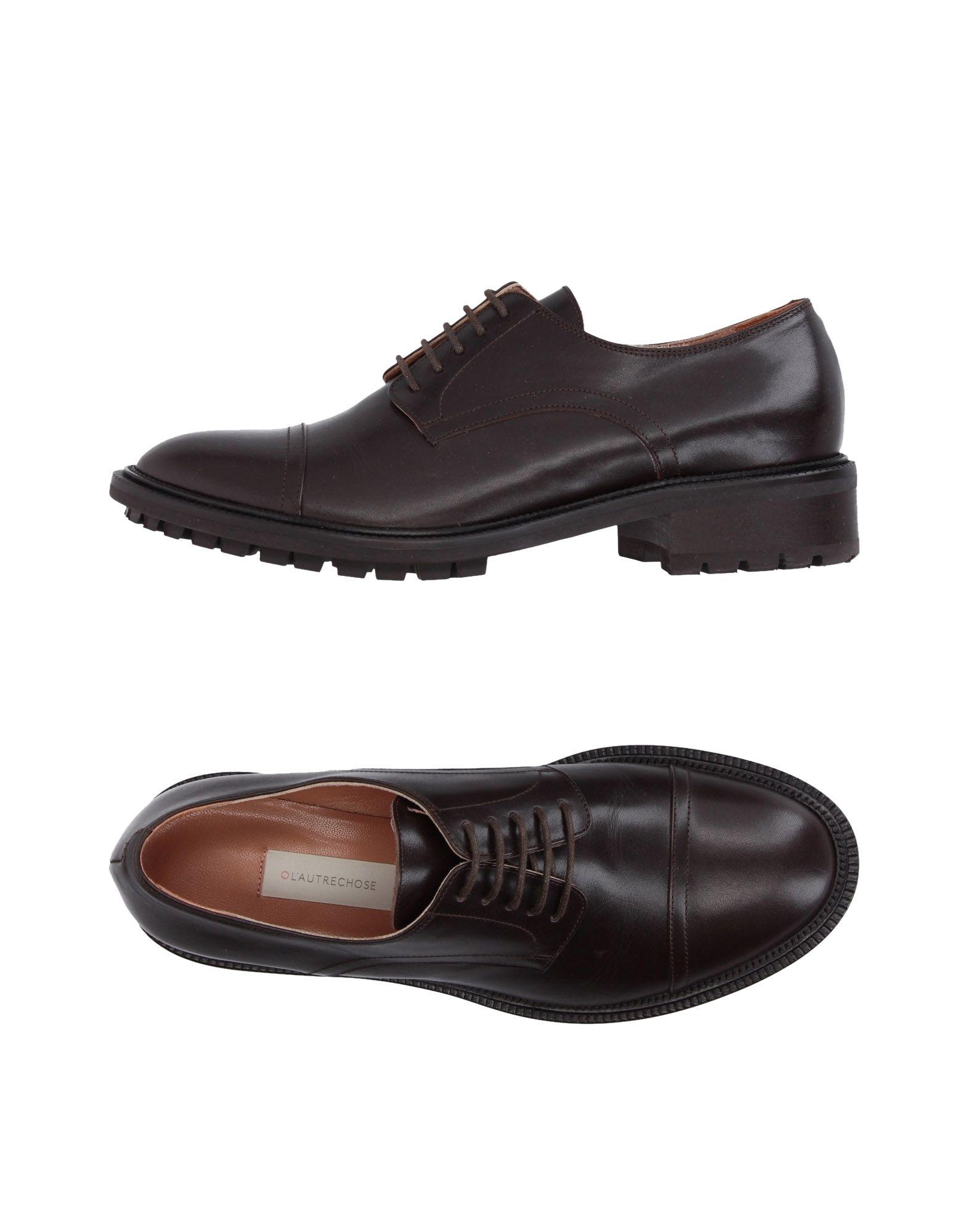 L' AUTRE CHOSE Обувь на шнурках цены онлайн