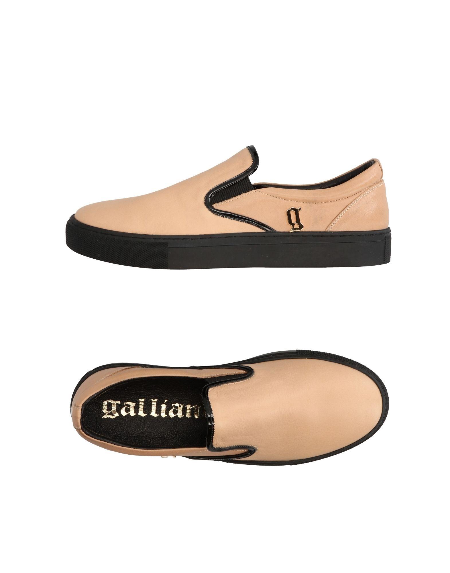 GALLIANO Низкие кеды и кроссовки �������� galliano