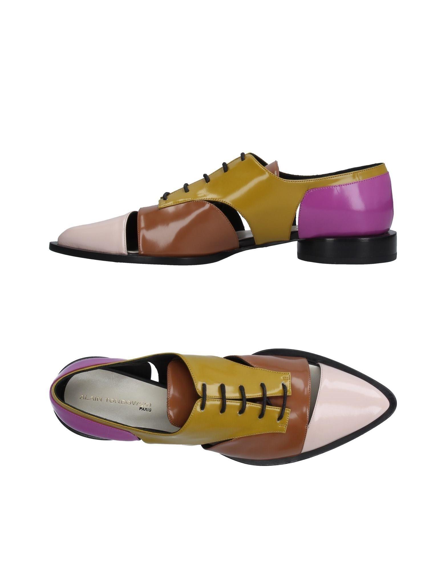 ALAIN TONDOWSKI Обувь на шнурках alain gods