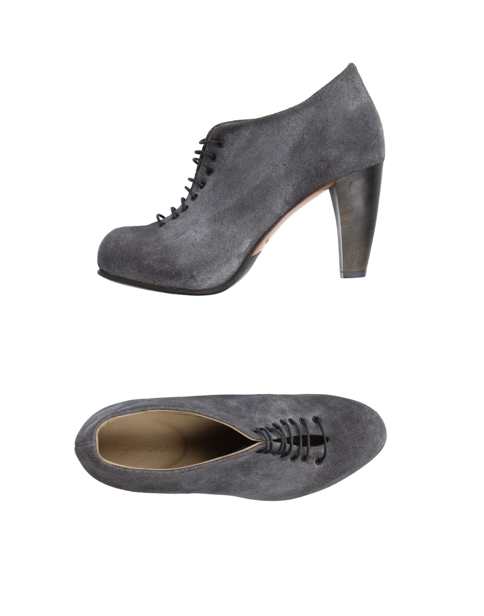 REINHARD PLANK Laced Shoes in Grey