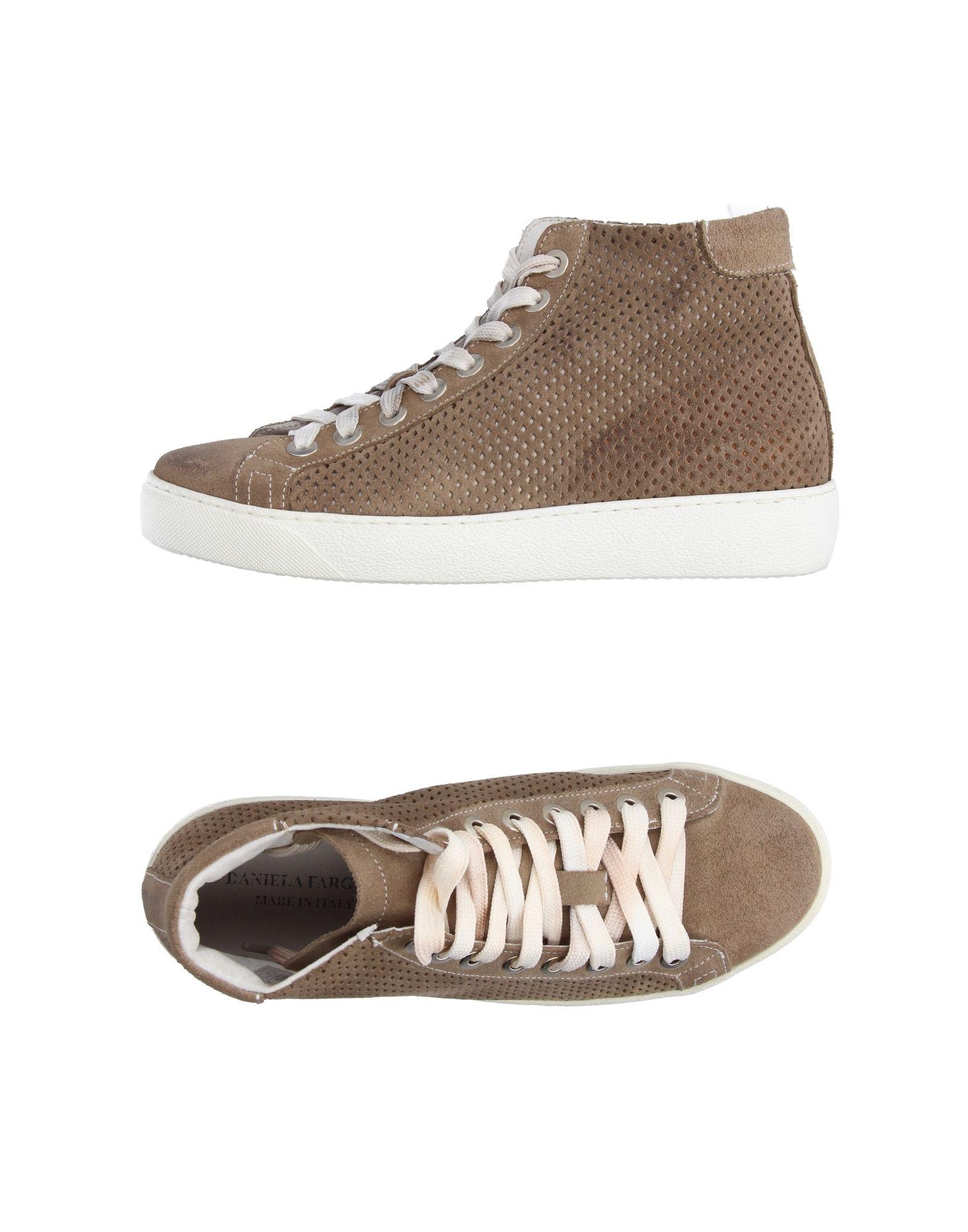 DANIELA FARGION Высокие кеды и кроссовки цены онлайн